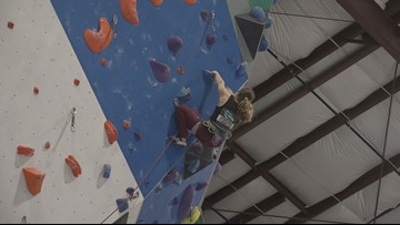 Alexandria 16-year-old has her eye on speed climbing Olympic Gold