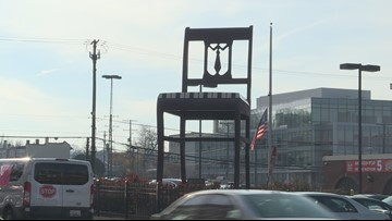 Why is there a big chair in Anacostia?