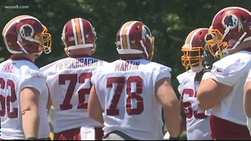 Redskins ragtag offensive line has confidence they can do the job