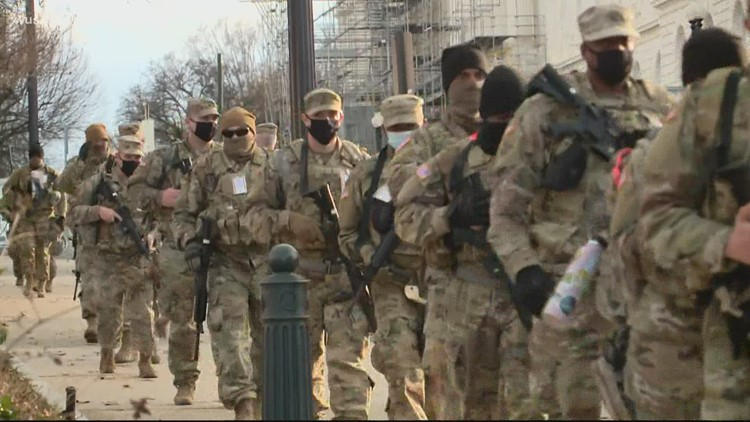 Pentagon denies food hospitalized National Guard troops defending the Capitol