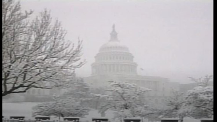 41 years ago -- one of DC's most notorious blizzards struck on Presidents' Day weekend