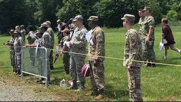 Redskins host military members at practice, head coach jokes about 'Hard Knocks'