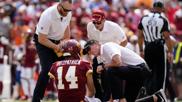 Snake-bitten? QB Ryan Fitzpatrick's injury stinks for Washington Football fans | Hear Me Out