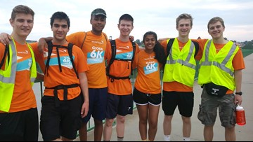 Meet the 17-year-old boy who walked 50 miles to raise money for clean water