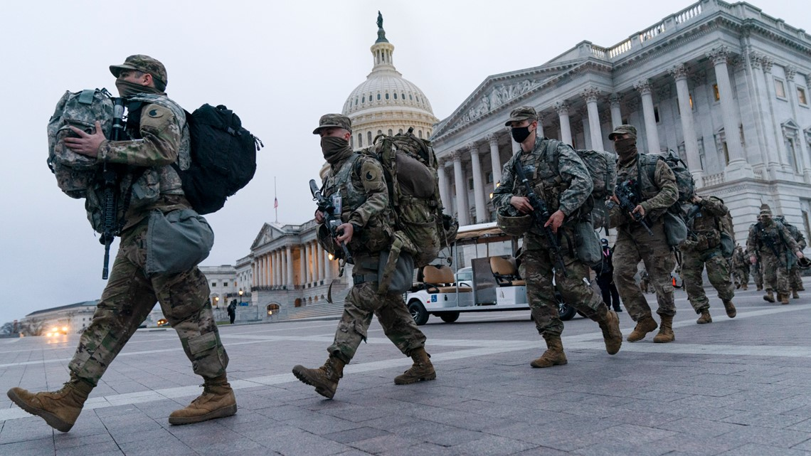 150 National Guard members deployed to DC after Capitol riots test positive for COVID-19