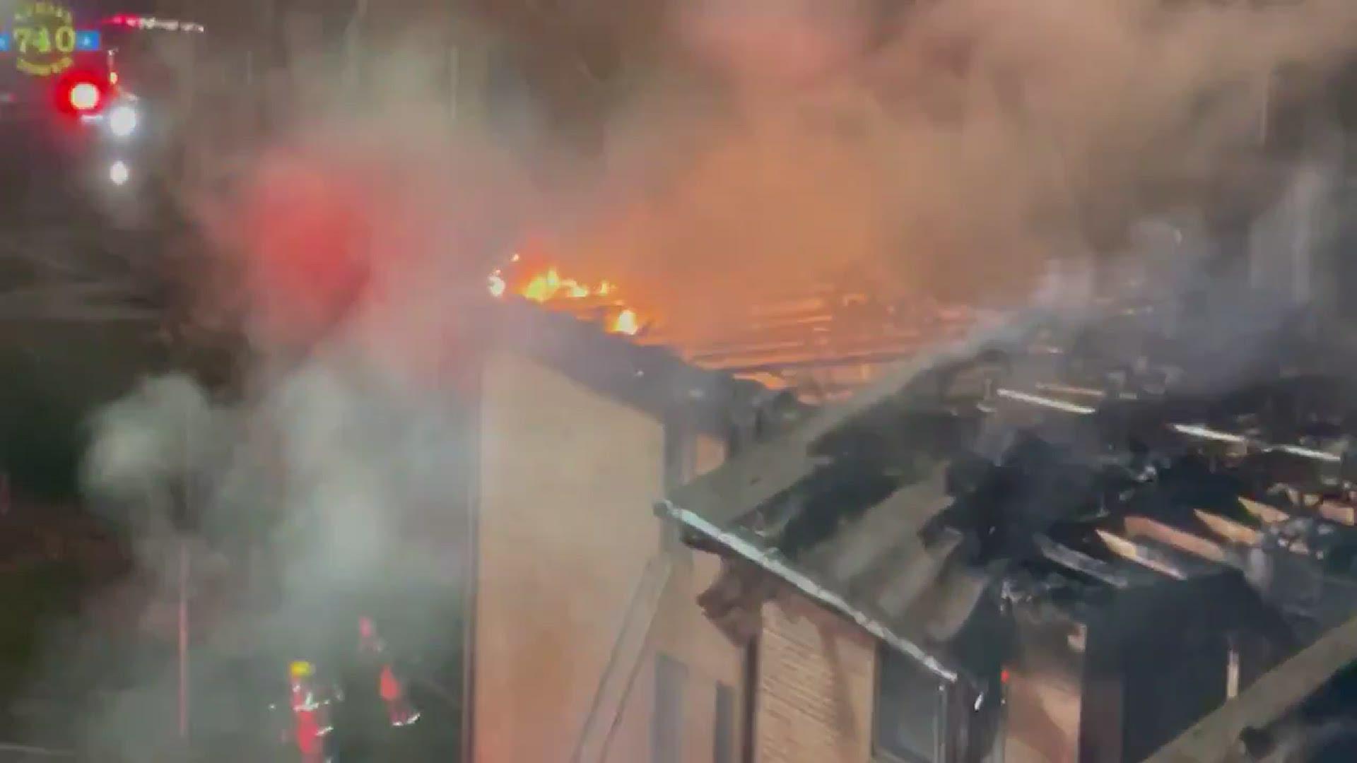 Massive 3 Alarm Fire At Leisure World Community In Silver Spring Wusa9 Com
