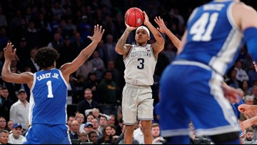 James Akinjo and Josh LeBlanc removed from Georgetown basketball team