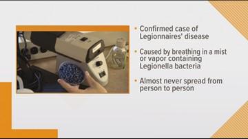 Legionnaires disease at DC retirement community