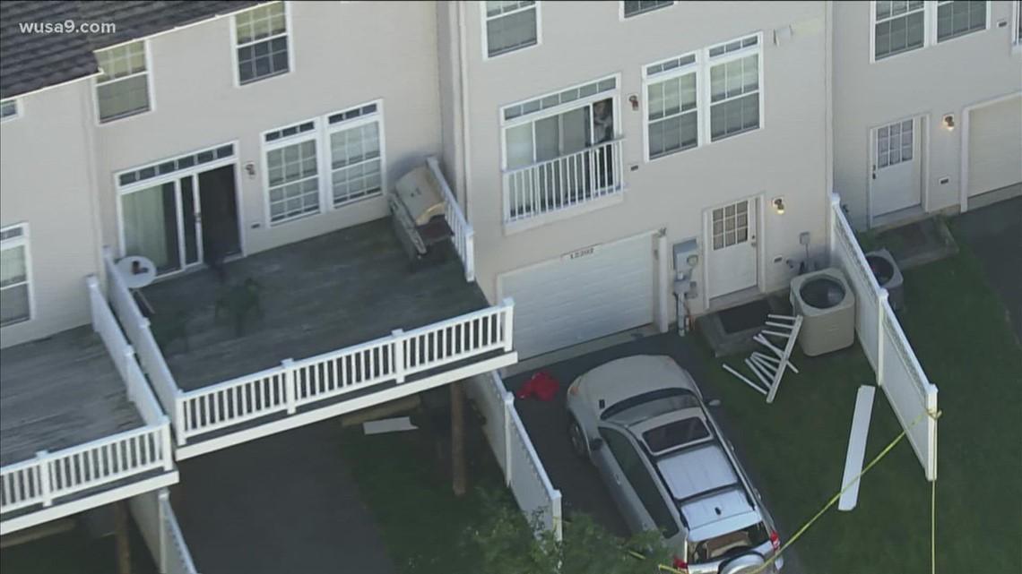 2 hurt in Clarksburg balcony fall