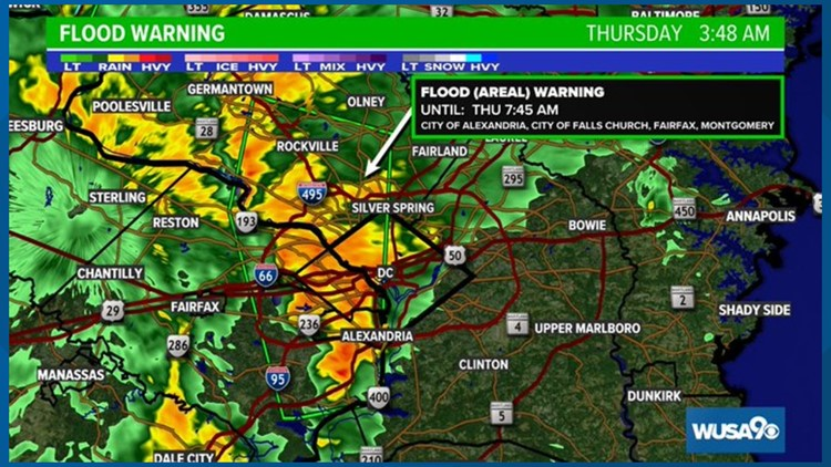 Rain, storms could slow your Thursday morning commute