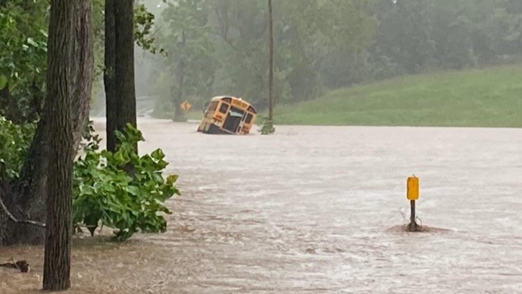 Frederick County Superintendent defends not canceling school amid floods