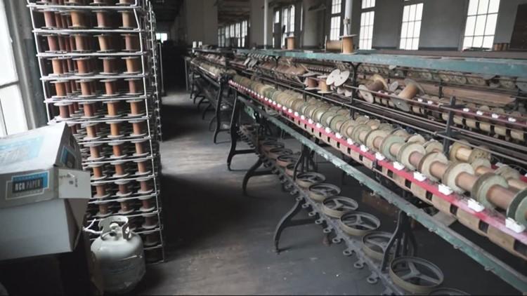 Open Road: Last silk mill in U.S.