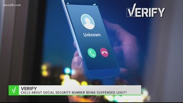 VERIFY: No, calls claiming your Social Security number has