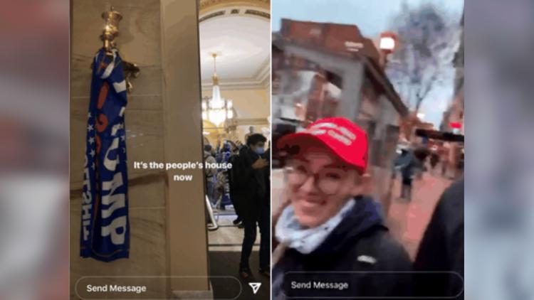 'Meet the new congresswoman'   Friend's Instagram post leads to woman's Capitol riot arrest