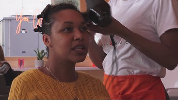 Black woman opens blow dry bar to serve people with all hair textures #ForTheCulture