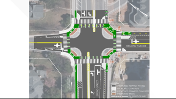 'Protected intersection' coming to Silver Spring to improve safety