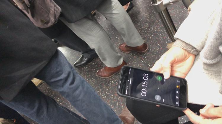 Verify Road Trip Riding the Metro Long Times