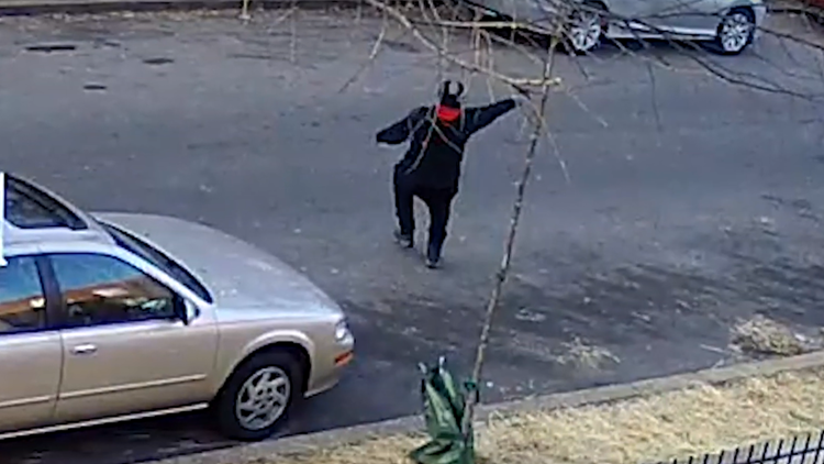 DC police look for man who put on a mask, pulled out a gun and shot into the street