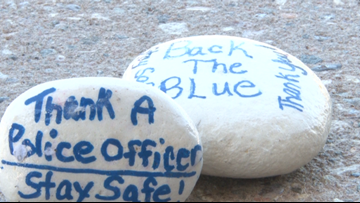 Spreading joy and inspiring others in Fairfax County, one rock at a time