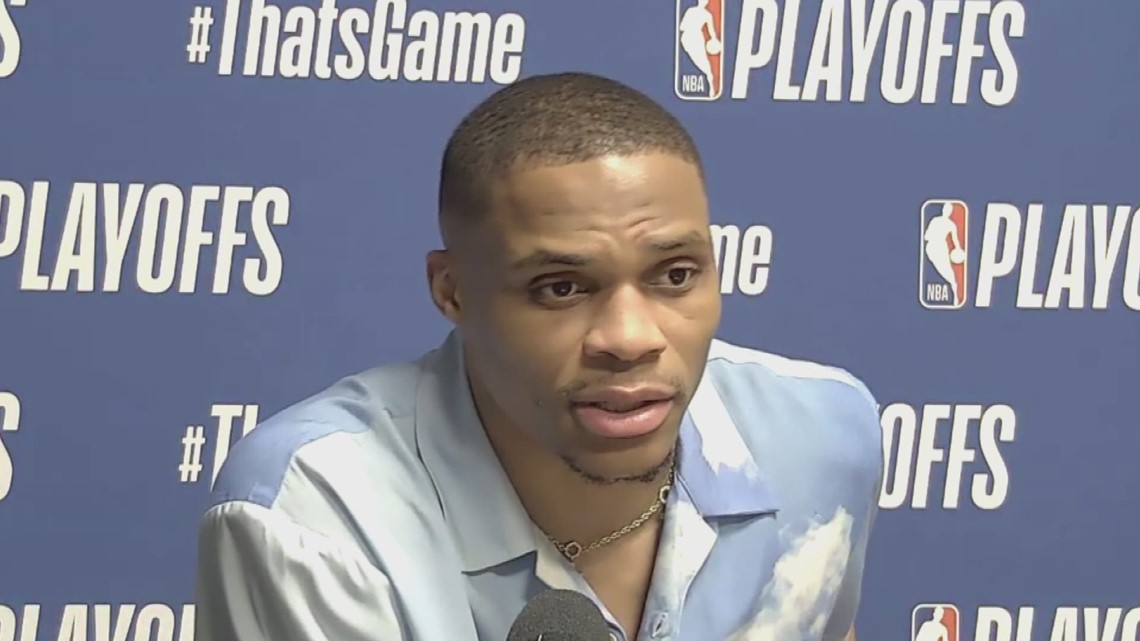 Russell Westbrook sounds off after Philly fan allegedly dumped popcorn on his head