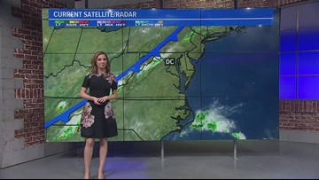 Warm Sunday with highs in the mid 80s