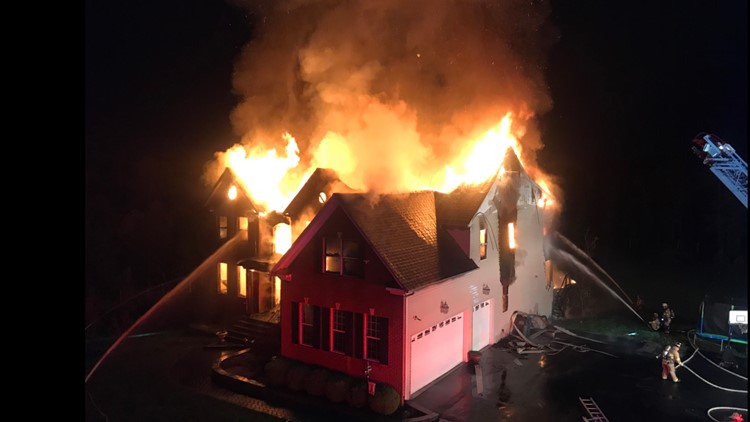 Centreville house fire