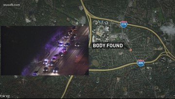 Authorities ID body found wrapped in tarp at Bethesda bus stop