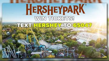 Win tickets to Hersheypark