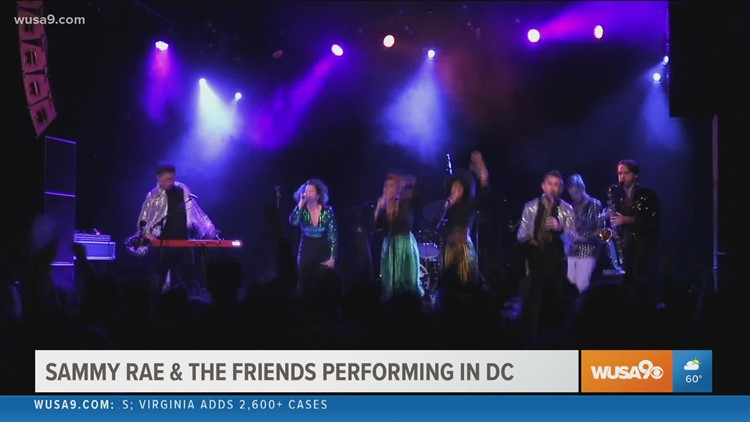 Sammy Rae & The Friends are bringing their unique sound to DC