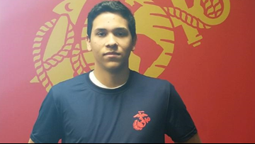 Marine recruit, 18, dies after medical emergency during strength test in Frederick, Maryland