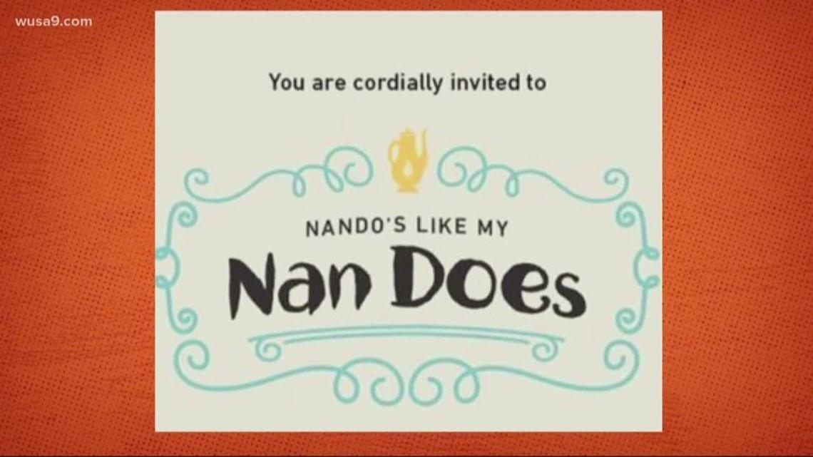 "Nando's Peri Peri is throwing a grandma themed party called  ""Nando's Like My Nan Does"""