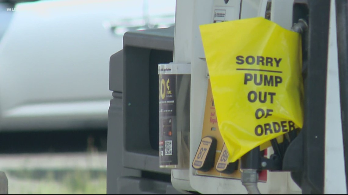 Gas shortage is having a negative impact on small businesses