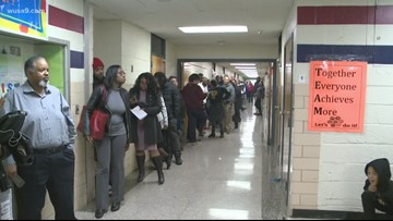 Polling places ran out of ballots in Prince George's Co.