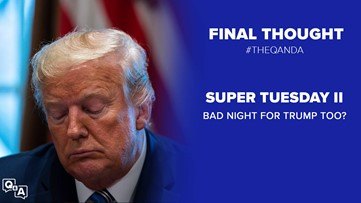 Super Tuesday wasn't just bad for Bernie, Trump also took some hits