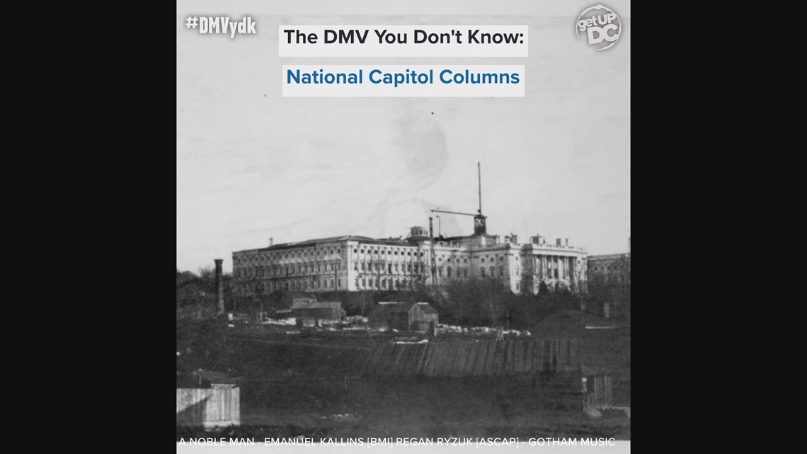 The history behind the National Capitol Columns | The DMV You Don't Know