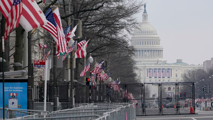 Security barriers start to come down after stressful few weeks in the nation's capital