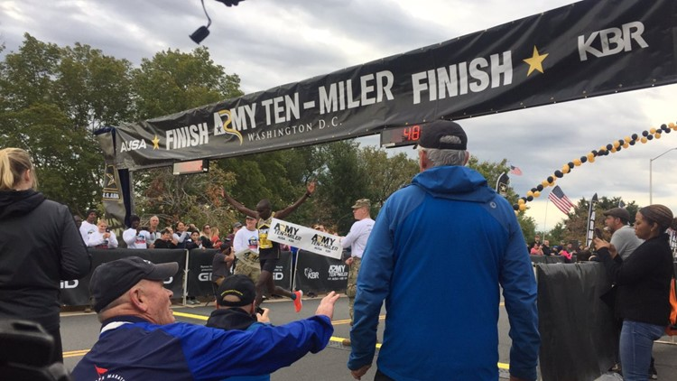 Over 35,000 people run in 35th Army Ten-Miler race