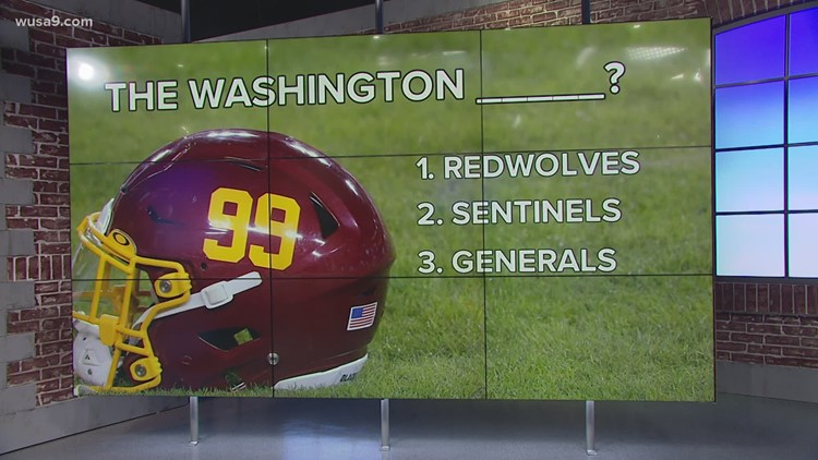 Washington Football Team ruled out 'Warriors' as new potential team name