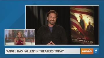 "Gerard Butler talks about his latest film, ""Angel Has Fallen"""
