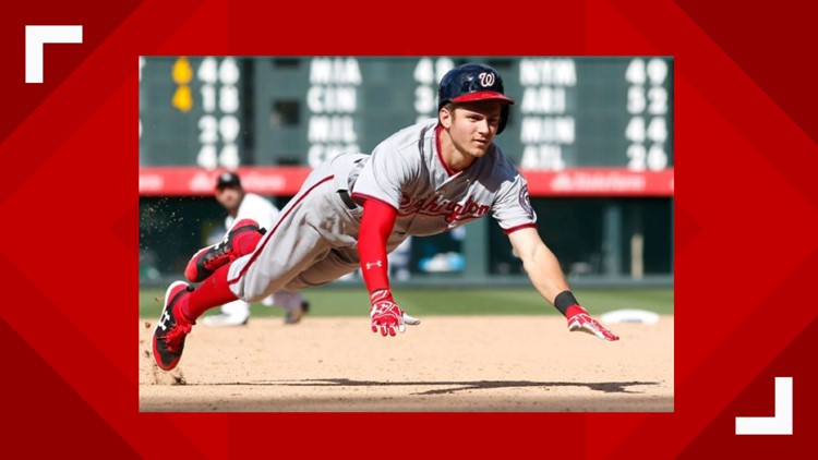 Nationals' Trea Turner burns rubber on the basepaths