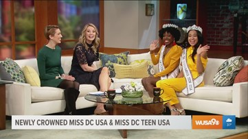 Miss DC USA and Miss DC Teen USA aim to serve as an inspiration to all women