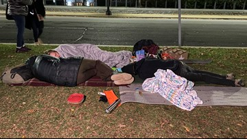 'This is my home' | Ahead of DACA arguments, 'Dreamers' camp out near the Supreme Court