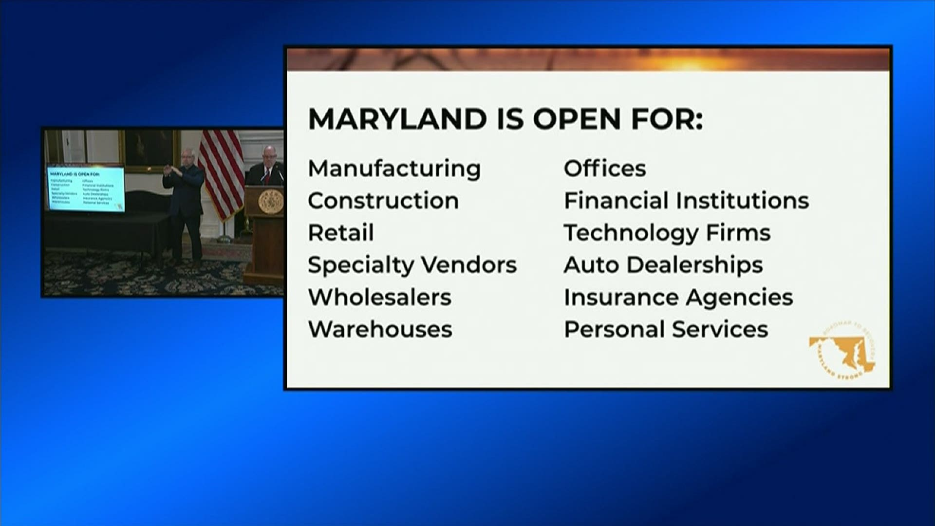 Maryland Phase Reopening All The Things You Can Do Again Wusa9 Com