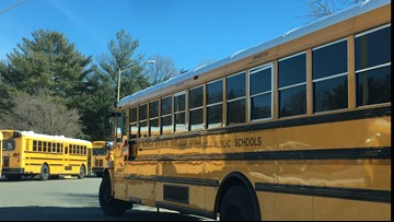 Why did Fairfax County schools stay open in frigid temperatures?