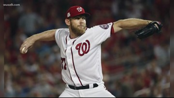 Here's how much Stephen Strasburg could be making per pitch next season