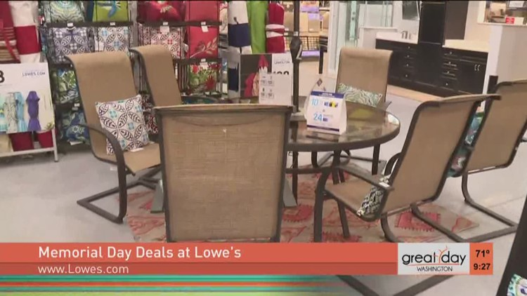 The Latest Deals On Outdoor Furniture At Lowe S