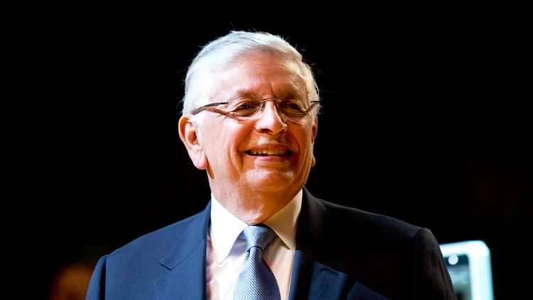 Wise: David Stern died on Wednesday. He is survived by his wife, two sons and a league he resurrected