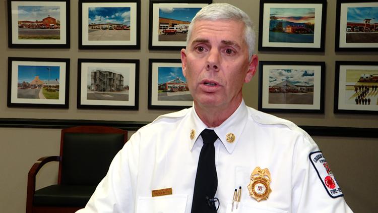 Fire Chief Johnson