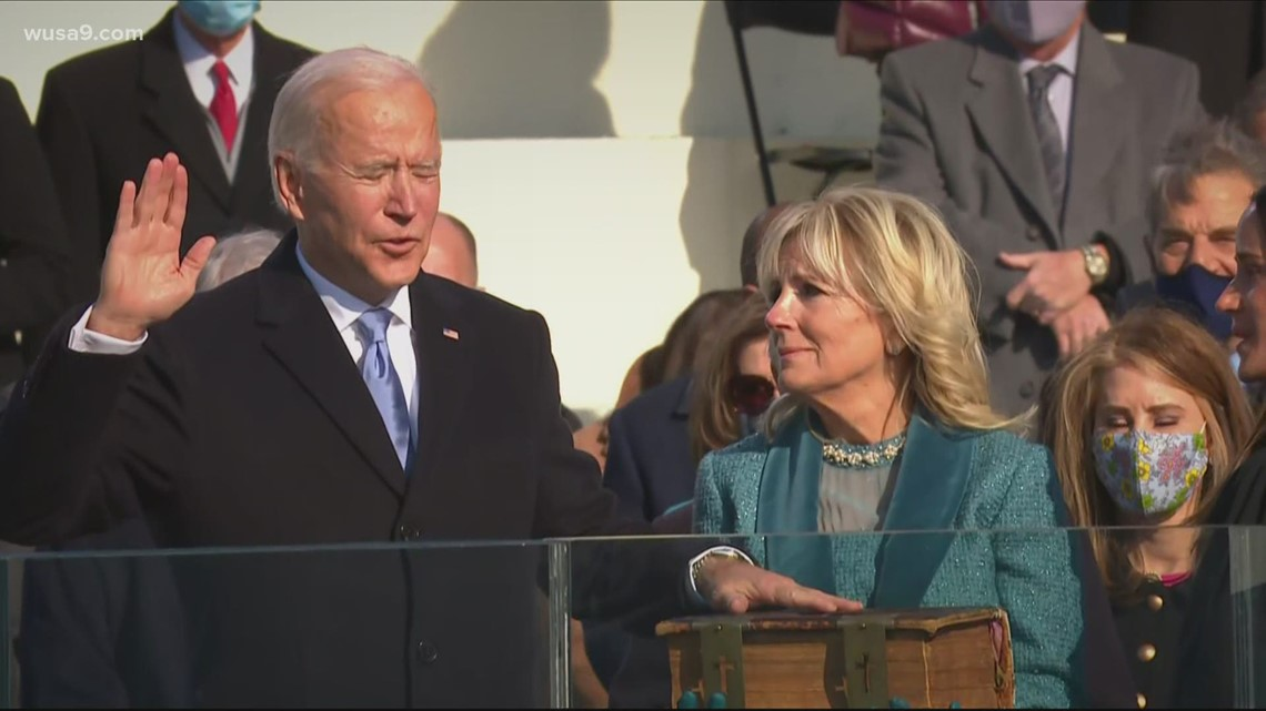 TIMELINE: Here's what the 59th Presidential Inauguration looked like