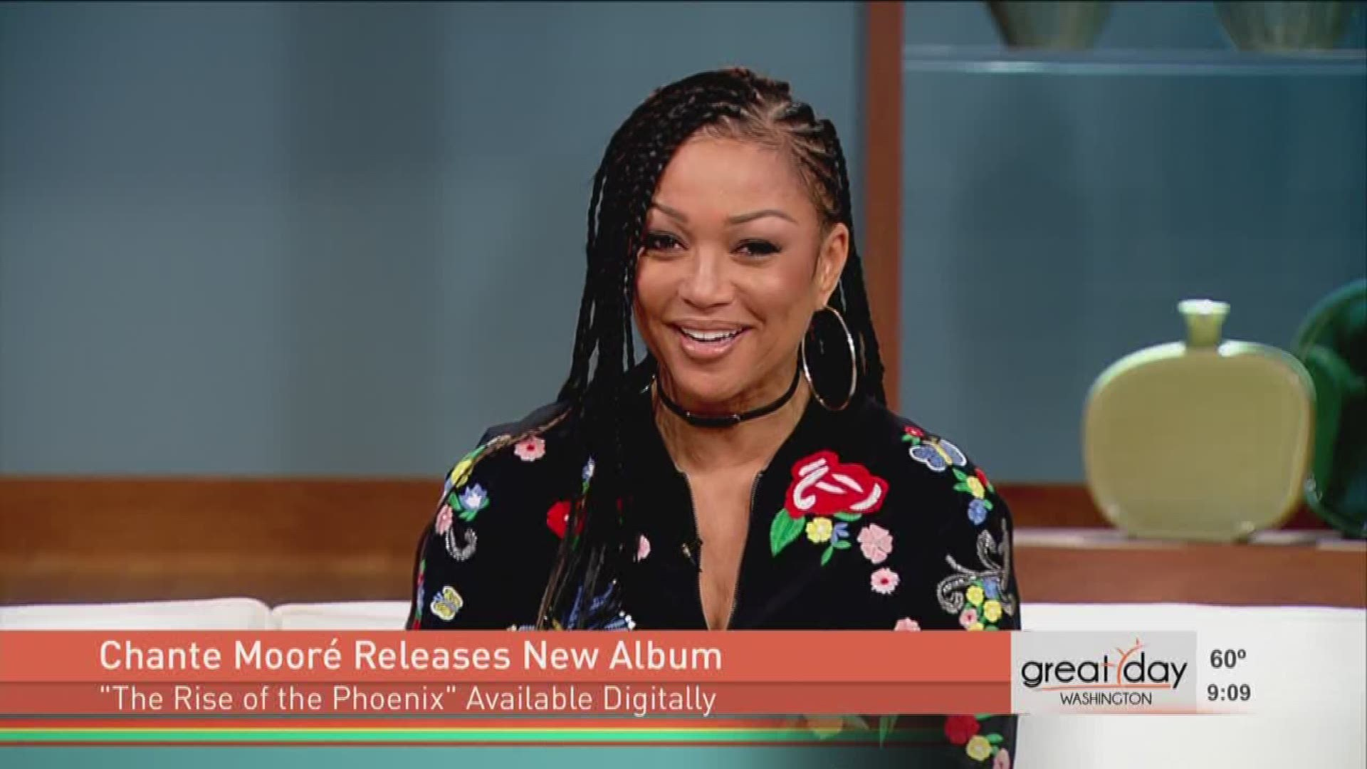 Grammy Nominated Singer Chante Moore Says New Album Is Very Personal Wusa9 Com